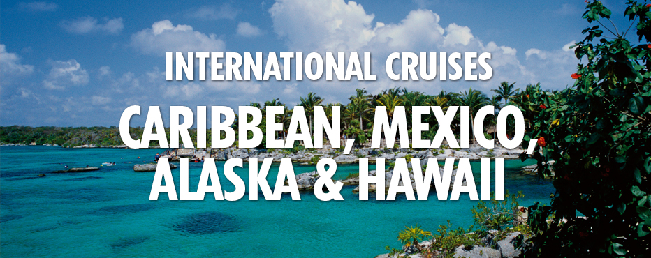 International cruise offerings by Carnival.