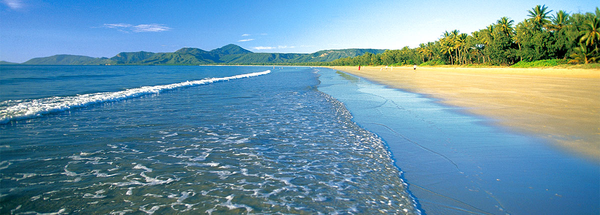 Beach in Cairns, Australia