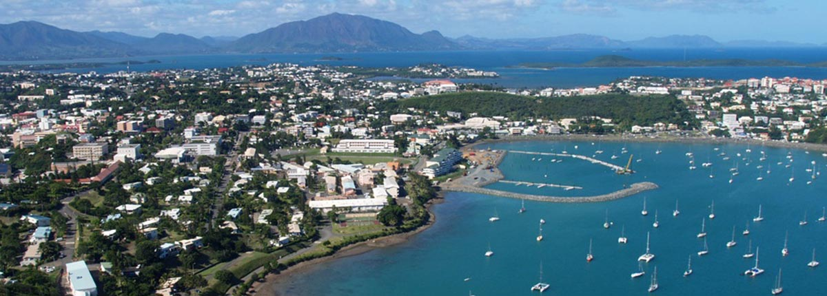 Harbour view of Noumea, New Caledonia