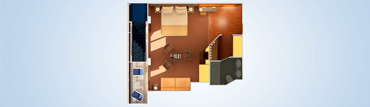carnival legend junior suite floorplan