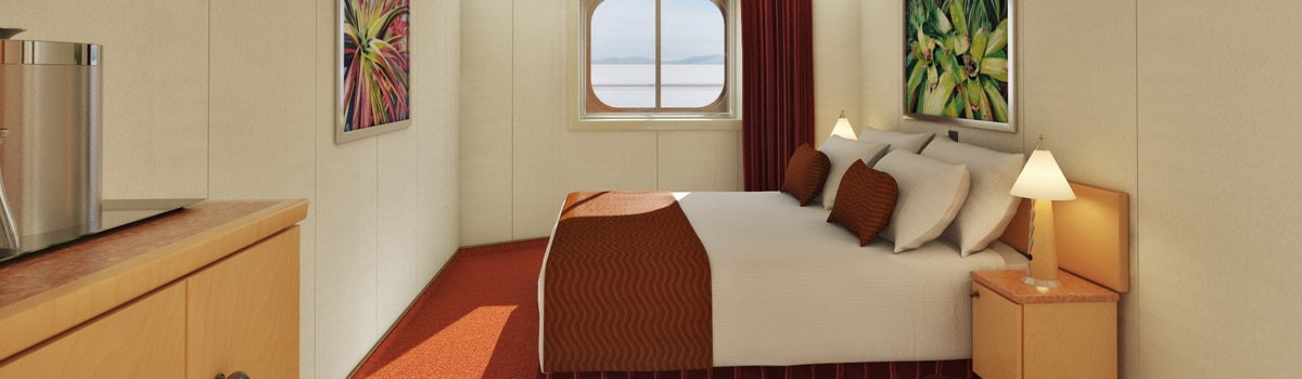 Carnival Splendor Interior with Picture Window (Walkway Views) Stateroom