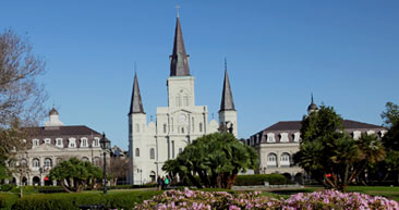 visit the st. louis cathedral while exploring new orleans