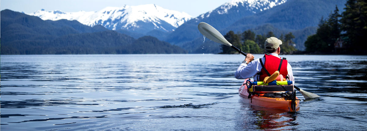 enjoy nature in SItka, Alaska