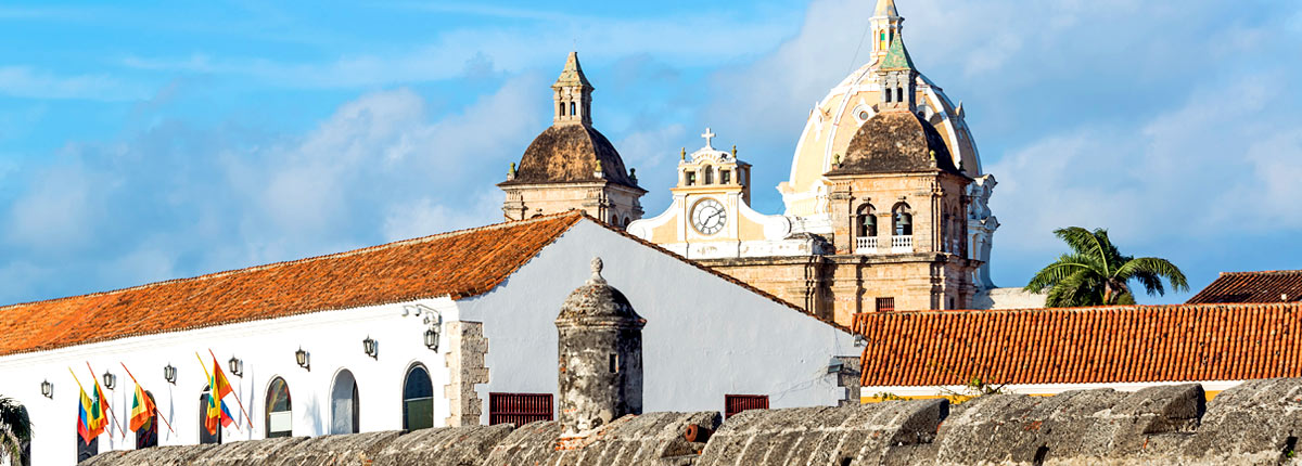 view historic buildings in cartagena