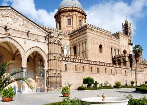 visit the beautiful palermo cathedral
