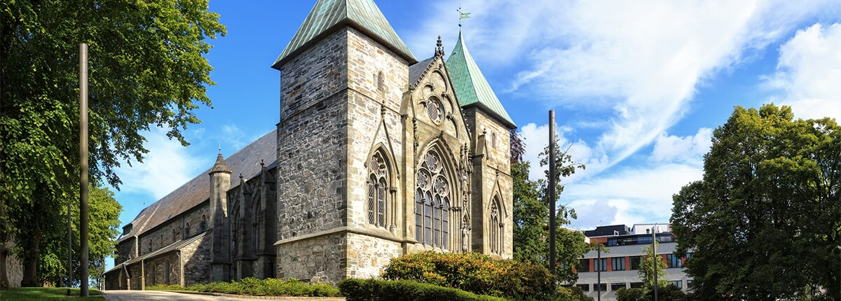 stavanger cathedral in norway
