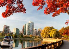 take a walk through stanley park in vancouver