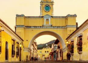 view of the beautiful santa catalina arch