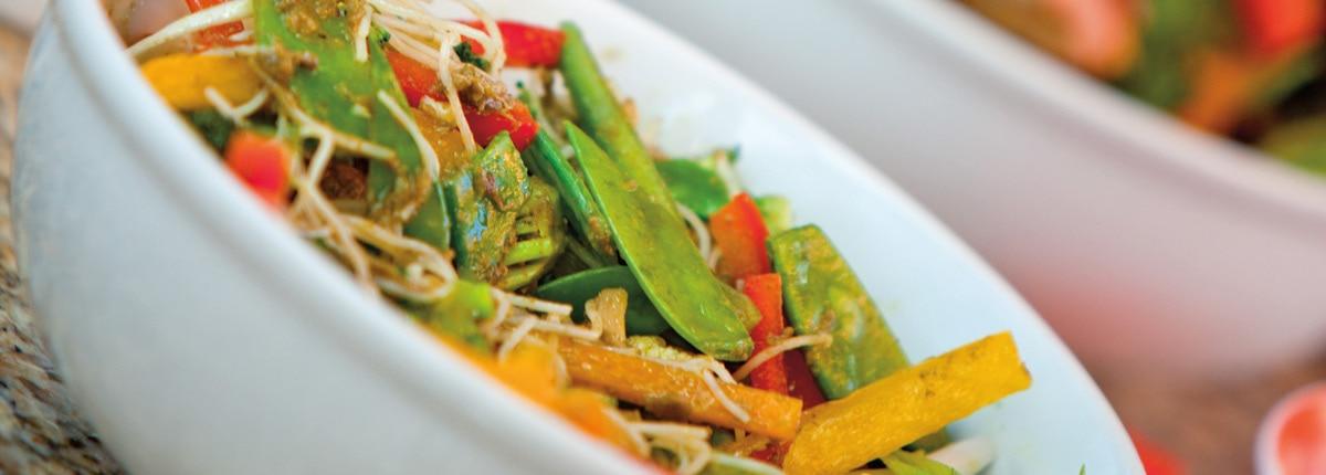 mongolian wok  asian cuisine  carnival cruise line australia