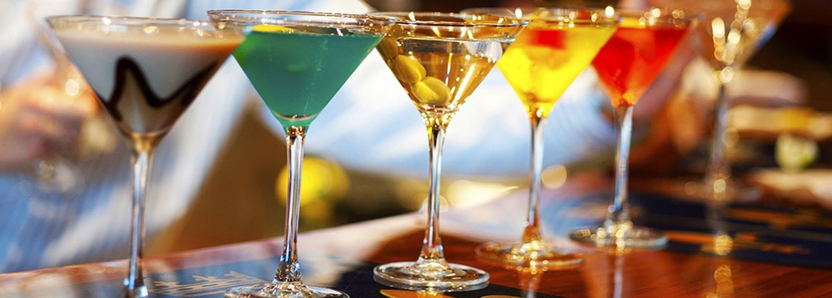 there are many drinks to explore on carnival cruise line