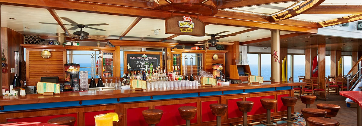 Redfrog Rum Bar Bars Carnival Cruise Line Australia