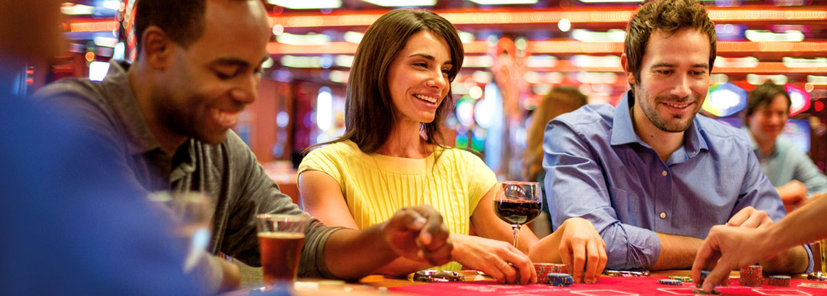 drink and play black jack on carnival cruises