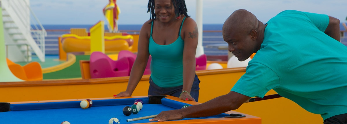 play pool on carnival cruise ships