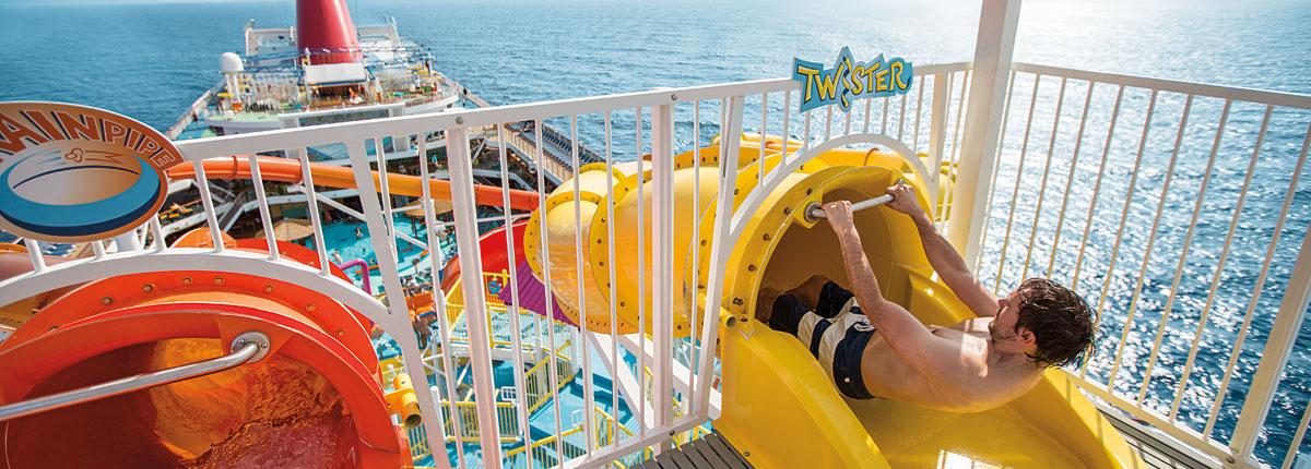 Carnival Waterworks Cruise Waterpark Carnival Cruise