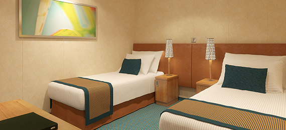 Cruise Accommodation  Cruise Ship Rooms  Carnival Cruise Line